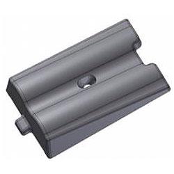 Плита бронефутеровочная конусно-волновая